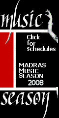 Special Edition on Madras Music Season 2008-09